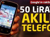 50 liraya akıllı telefon