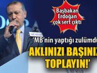 Erdoğan sert konuştu: Aklınızı başınıza toplayın