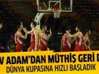 Türkiye: 76 - Yeni Zelanda: 73
