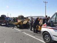 Aksaray'da korkunç kaza: 3 ölü, 5 yaralı