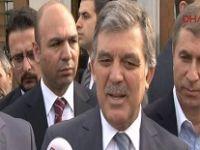 Abdullah Gül 'Ak Saray' sorusuna çok kızdı!