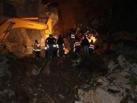 Rize'de Güneyce Tüneli inşaatında göçük