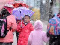 8 ilde okullara kar tatili
