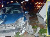 Alkollü ve ehliyetsiz kadın sürücü baba-kızı canından etti