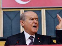 MHP lideri Devlet Bahçeli'den çok sert sözler