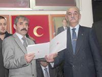 MHP Çankırı'da nöbet değişimi
