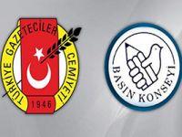 TGC ve Basın Konseyi'nden Mehmet Baransu tepkisi