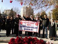 MHP'li kadınlardan 8 Mart Dünya Kadınlar Günü etkinliği