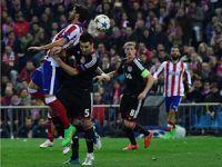 Atletico Madrid çeyrek finalist