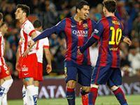 Barcelona: 4 - Almeria: 0