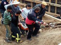 Çankırı'da yurt inşaatında göçük: 2 işçi hayatını kaybetti