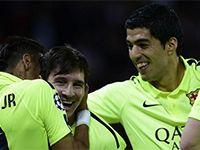 Paris Saint Germain: 1 - Barcelona: 3