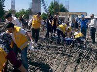 Kahramanmaraş'ta inşaat çöktü: 9 işçi yaralı