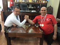 Şaban Mazak Türkiye Şampiyonu oldu