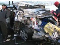 Derbi yolunda feci kaza: 1 ölü