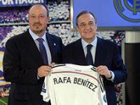 Rafael Benitez ağlaya ağlaya imza attı