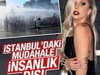 Lady Gaga Taksim'deki polis müdahalesine tepki gösterdi