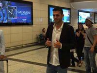 Luiz Rhodolfo, İstanbul'a geldi