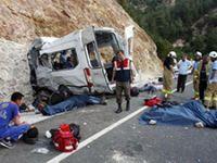 Balıkesir'de korkunç kaza: 11 ölü, 29 yaralı