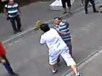 İrlandalı turist tüm esnafı dövdü! İZLE