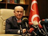 MHP lideri Bahçeli'den gündem değiştirecek açıklamalar