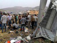 Antakya'da feci kaza: 6 ölü, 25 yaralı!