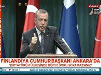 Erdoğan: Her olayda istifa etmek doğru değil