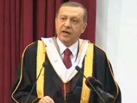Erdoğan tekrarladı: İspatlarsan bu koltukta 5 dakika durmam