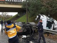 Adapazarı'nda zincirleme trafik kazası