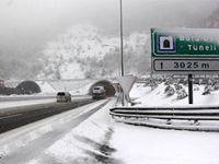 Bolu dağında kar alarmı