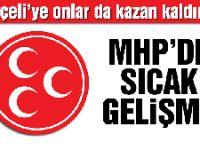 MHP'de ağır toplardan deklarasyon