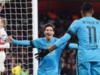 Arsenal: 0 - Barcelona: 2