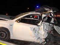 Afyon'da feci kaza: 4 ölü