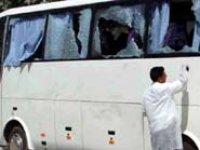 Yolcu otobüsüne silahlı saldırı!