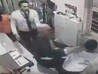 Erdoğan Bayraktar güvenlik görevlisi dövdü