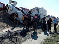Bayramda trafik kazalarında can kaybı sayısı 54