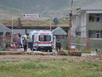 Jandarmaya roketli saldırı: Bir şehit