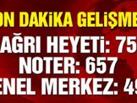 MHP: 495 delege imza verdi!