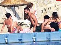 Arda Turan Fethiyede tatilin tadını çıkarıyor