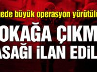 Diyarbakır'ın 13 köyünde sokağa çıkma yasağı ilan edildi