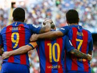 Barcelona: 6 - Real Betis: 2