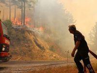 Son dakika… Alanya'da orman yangını, evler tahliye ediliyor
