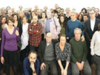 Tutuklu gazetecilere meslektaş selamı