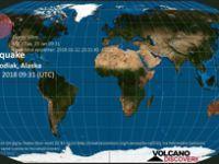 Alaska'da 7.9 büyüklüğünde deprem: Tsunami alarmı verildi