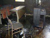 Çankırı Karatekin Üniversitesi'nde yangın