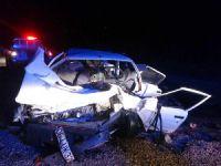 Çorum'da kaza: 3 ölü, 1 yaralı