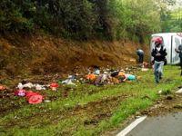 Endonezya'da katliam gibi kaza: 26 ölü, 15 yaralı