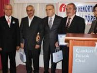 Çankırıda vergi rekortmenleri ödüllerini aldılar