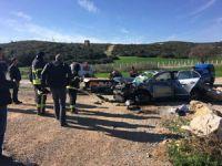 Aydın'da otomobil devrildi: 2 ölü, 3 yaralı