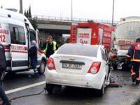 TEM'de feci kazadan acı haber! Anne öldü, 3 yaşındaki bebeği ağır yaralı